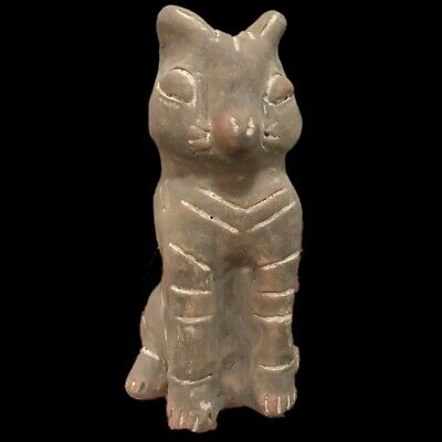 Ultra Rare Huge Stone Age Ancient Neolithic Anthromorphic Vinca Idol 4500BC (6)