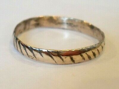 Birthday/Anniversary Gifts.detector Find&Polished,200-400 A.d Roman Wedding Ring