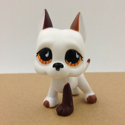 Littlest Pet LPS #750 RARE Puppy Great Dane Dog Collection Gift For Children Toy