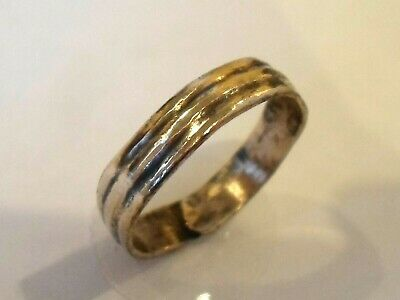 Birthday/Anniversary Gifts.detector Find&Polished,500-200 Bc Celtic Bronze Ring