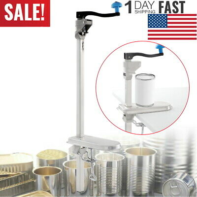 Large Heavy-Duty Table Bench Commercial Kitchen Restaurant Food Can Lid Opener