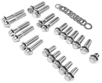 Feuling Chassis & Trim 12-Point Stainless Steel Bolt Kit #3066 Harley Davidson