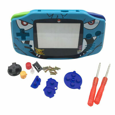 Replacement Housing Shell Case w/Screwdriver for Nintendo Gameboy Advance GBA