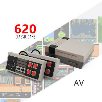 Classic Mini Game Consoles Built-in 620 Games TV Video Game Compatible with NES