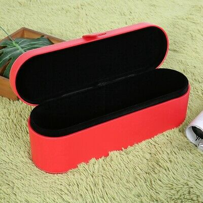 Leather Hair Dryer Storage Box for Dyson Supersoni Travel Carry Case Box Red