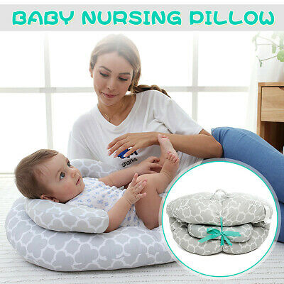 Baby Newborn Infant Pillow Cushion Sleeping Flat Head Safety Support Comfortable