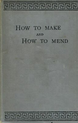 How to Make and Mend An Amateur Mechanic