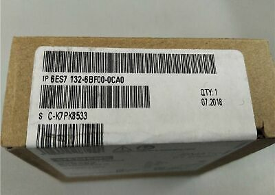1 PC New 6ES7132-6BF00-0CA0 Siemens In Box free shipping