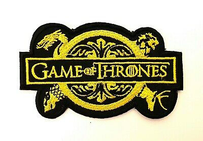 Game of Thrones Iron On Patch Sew On Embroidered Patch T shirt Jacket Patch