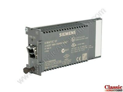 Siemens   6ES7960-1AA04-0XA0  Sync Submodule for Patch Cable (new)