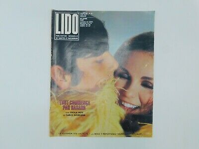 "Photo comics ""Lido"" n°87 de 1969 ♦ Françoise Hardy ♦ Penelope Tree ♦ Mode"