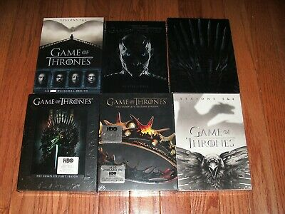 Brand New Sealed. Game of Thrones the complete series on DVD. Seasons 1-8