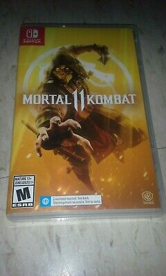 Mortal Kombat 11 Nintendo Switch Game Complete USED Game Good Condition MK11