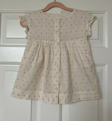 Baby Gap Kids Button Up Dress Toddler Girls Sz 18 24 M