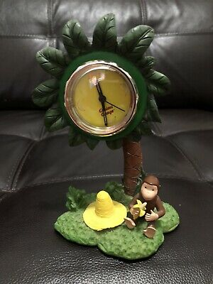Rare Curious George Palm Tree Clock HMCO Corp.
