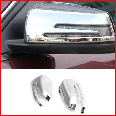 Side Rear Mirror Covers  For Mercedes Benz C CLASS E260L GLK300 GLA200