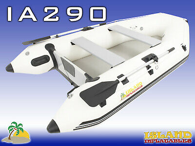 2.9m ISLAND INFLATABLE BOAT ✱ AIR-FLOOR ✱ Durable Thermo Welded Seams 3YRW 9
