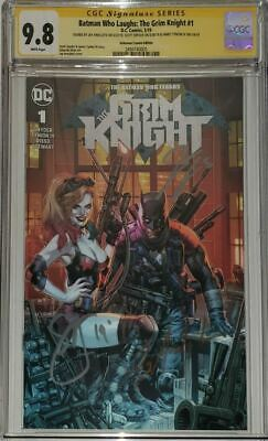 Batman Who Laughs Grim Knight 1 CGC 9.8 (NM/MT) SS Anacleto Snyder Tynion!!