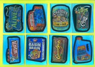 8 of 10 2006 Topps WACKY PACKAGES All-New Series 3 FOILS