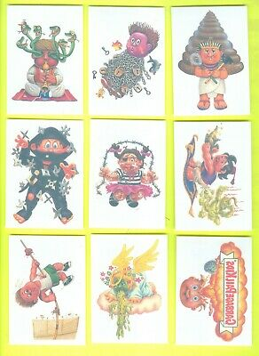 COMPLETE Set of 10 2005 Topps Garbage Pail Kids All-New Series 4 TATTOOS