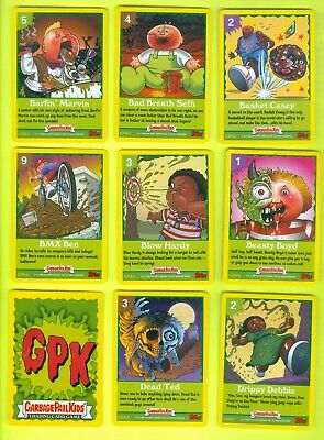COMPLETE Set of 33 2005 Topps Garbage Pail Kids All-New Series 4 GAME CARDS