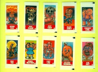 COMPLETE Set of 60 2003 Topps Garbage Pail Kids All-New Series 1 GUM STICKERS