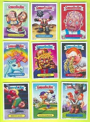 COMPLETE Set of 9 2006 Topps Garbage Pail Kids All-New Series 5 MAGNETS