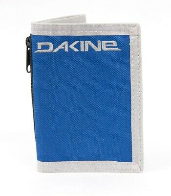 WALLET Dakine Tubular Purse Ripper Coins Notes Cards Identity NEW Purple /& Blue