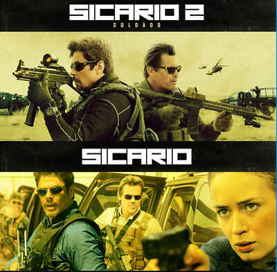 Sicario & Sicario 2: Day of the Soldado (4K/Blu-ray/DVD) NEW YOU PICK!!!