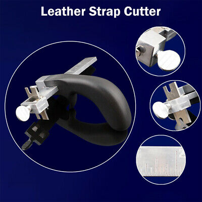 Professional Leather Strap Cutter Draw Gauge Leathercraft Strip Belt Tool