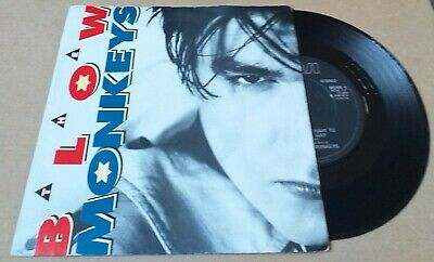 "THE BLOW MONKEYS it doesn't have to be this way 7"" vinyl record MONK 4"