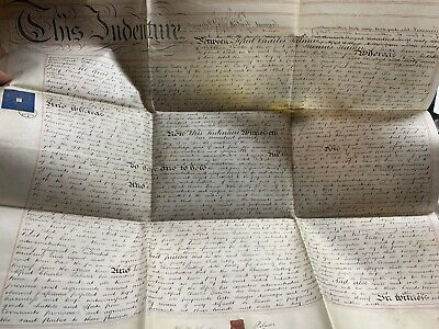 Huge 31 March 1868 1-Page Assignment Vellum Indenture - Shepherd's Bush (London)