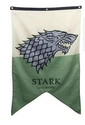 """GAME OF THRONES HOUSE STARK LARGE BANNER 30"""" x 50"""" official"""