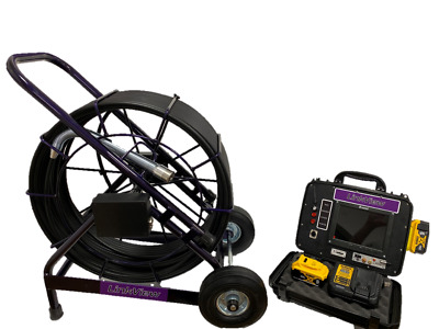 LV Pipe Genius 300' battery powered drain inspection sewer camera w/512hz sonde
