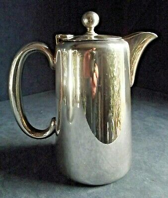 SUPERB ~ SILVER Plated ~ ART DECO ~ Water / Juice JUG ~ c1935 by Mappin & Webb