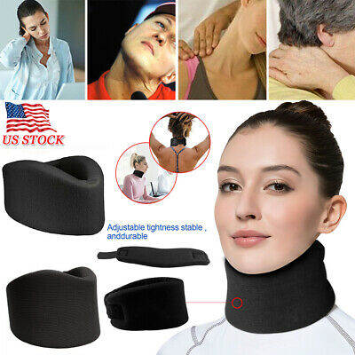 Cervical Therapy Soft Foam Neck Brace Support Device Collar Traction Pain Relief