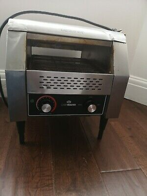 Chefmaster Conveyor Toaster Commercial Toaster Catering Toaster Rrp £500