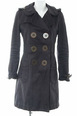 THOMAS BURBERRY Cabanmantel schwarz Casual-Look Damen Gr. DE 36 Mantel Coat