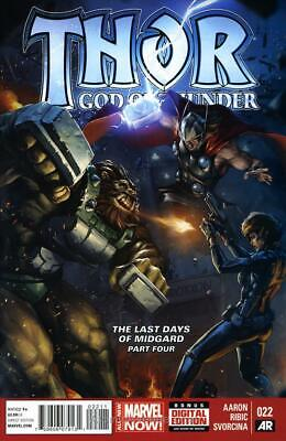 Thor: God of Thunder #22 VF/NM; Marvel | save on shipping - details inside