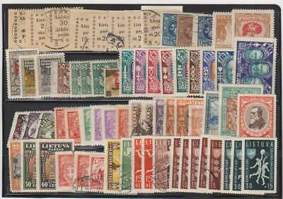 A7618: Better Lithuania Stamp Collection; CV $400