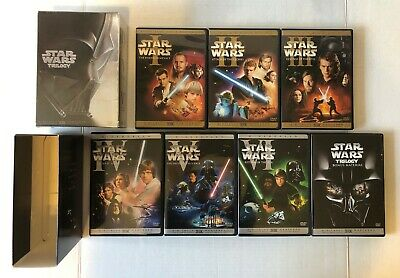 The Star Wars Complete DVD Episode I II III IV V VI_Prequel Trilogy_10 discs Lot