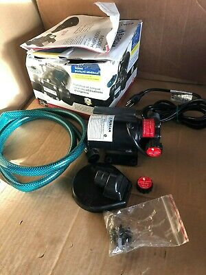 Burcam Model 300308Ph Utility Water Pump 1/12 Hp