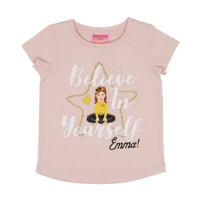 THE WIGGLES EMMA Girls Licensed tee t shirt top New with tags Free postage