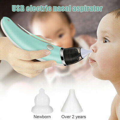 Electric Baby Nasal Aspirator Snot Sucker Nose Mucus Boogies Vacuum Infant Kids