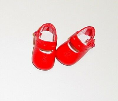 54mm RED Splendid Ankle Straps fit Wellie Wishers 91 Toni Doll Shoes