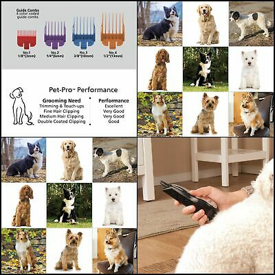 Clipper Pet Pro Dog Grooming Kit Quiet Heavy-Duty Electric Dog Clipper for Dogs