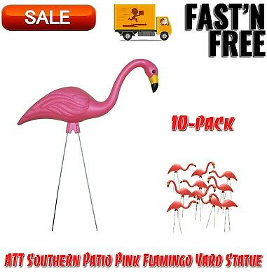 10-Pack Navy Flamingo Southern Patio TEAMingos 26 in