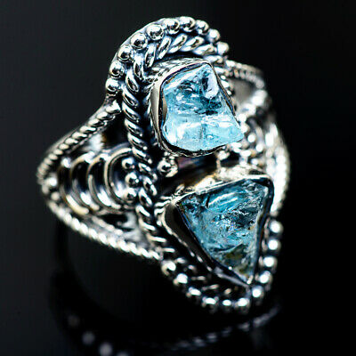 Aquamarine 925 Sterling Silver Ring Size 8 Ana Co Jewelry R987806F