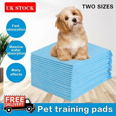 Dog Puppy Training Pads Pad Extra Large Wee Floor Toilet Loo Mats Indoor 150PCS