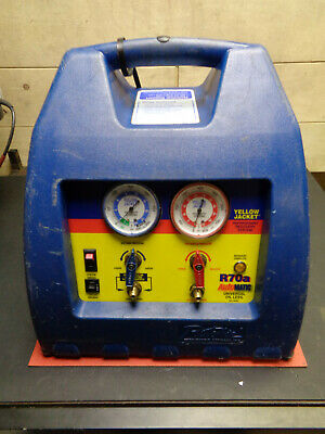 Refrigeration gas recovery unit Richie yellow jacket R70a H28YJFE4